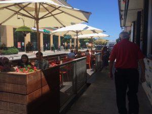 Hula's Island Grill Santa Cruz patio